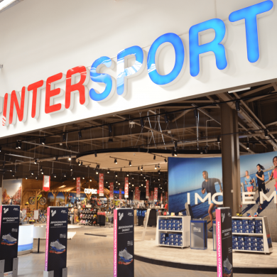 Professional LED lighting for Intersport